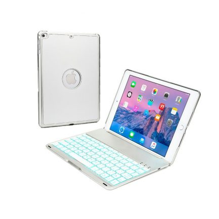 price compare iPad Air backlit smart aluminium bluetooth keyboard case Silver