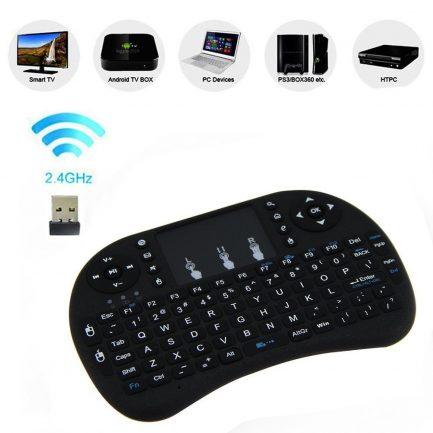 best price Wireless Keyboard Touchpad Remote Control Smart TV BOX PC