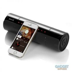 On sale Portable Stereo Bass Bluetooth/NFC Wireless Rechargeable LCD Speaker W/ FM Radio
