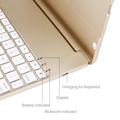 best iPad 2017 iPad Air Bluetooth keyboard case backlit