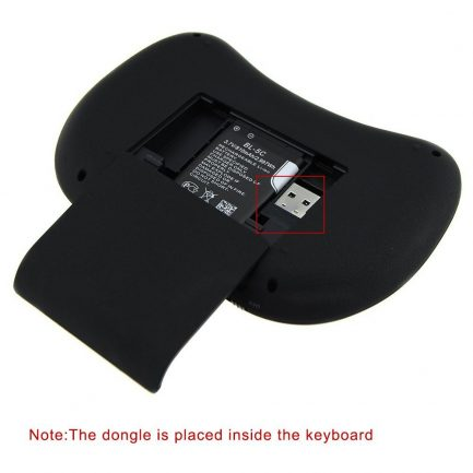 Online wireless keyboard with touchpad remote control for smart tv computer