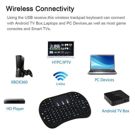 price compare wireless keyboard with touchpad remote control for smart tv computer