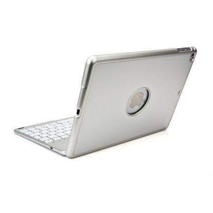 iPad Air backlit smart aluminium bluetooth keyboard case Silver