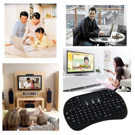 free delivery wireless keyboard with touchpad remote control for smart tv computer