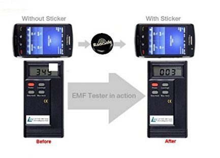 best price cell phone anti radiation anti heat stick on