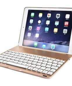 best buy iPad 2017 5TH GEN & iPad Air Smart Bluetooth Keyboard Case 7 Colors Backlit