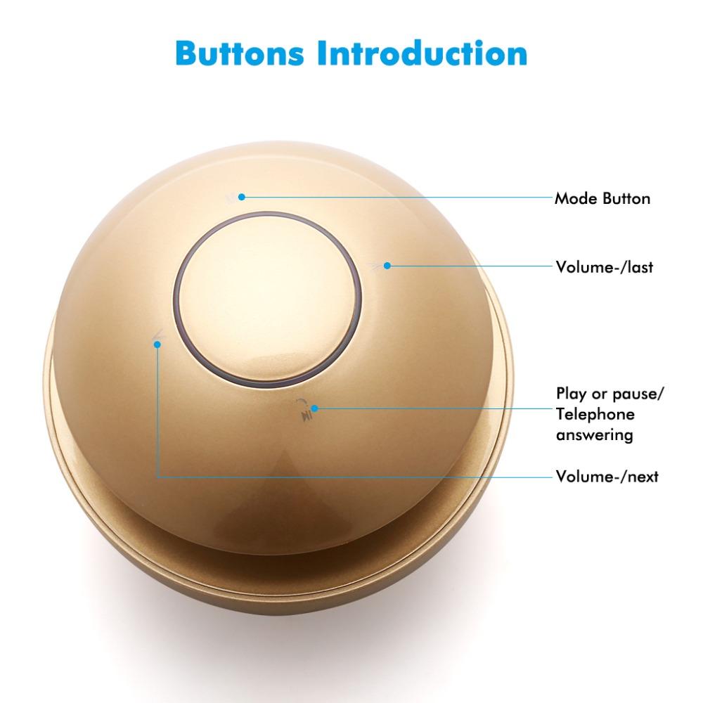 bestprice Wireless LED Speaker Ball