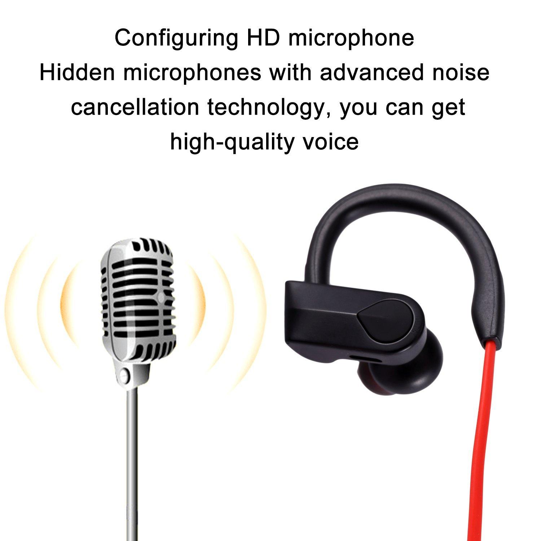 quality Wireless Bluetooth Earphones Headphones Headset Mic Sport Mobile Phone