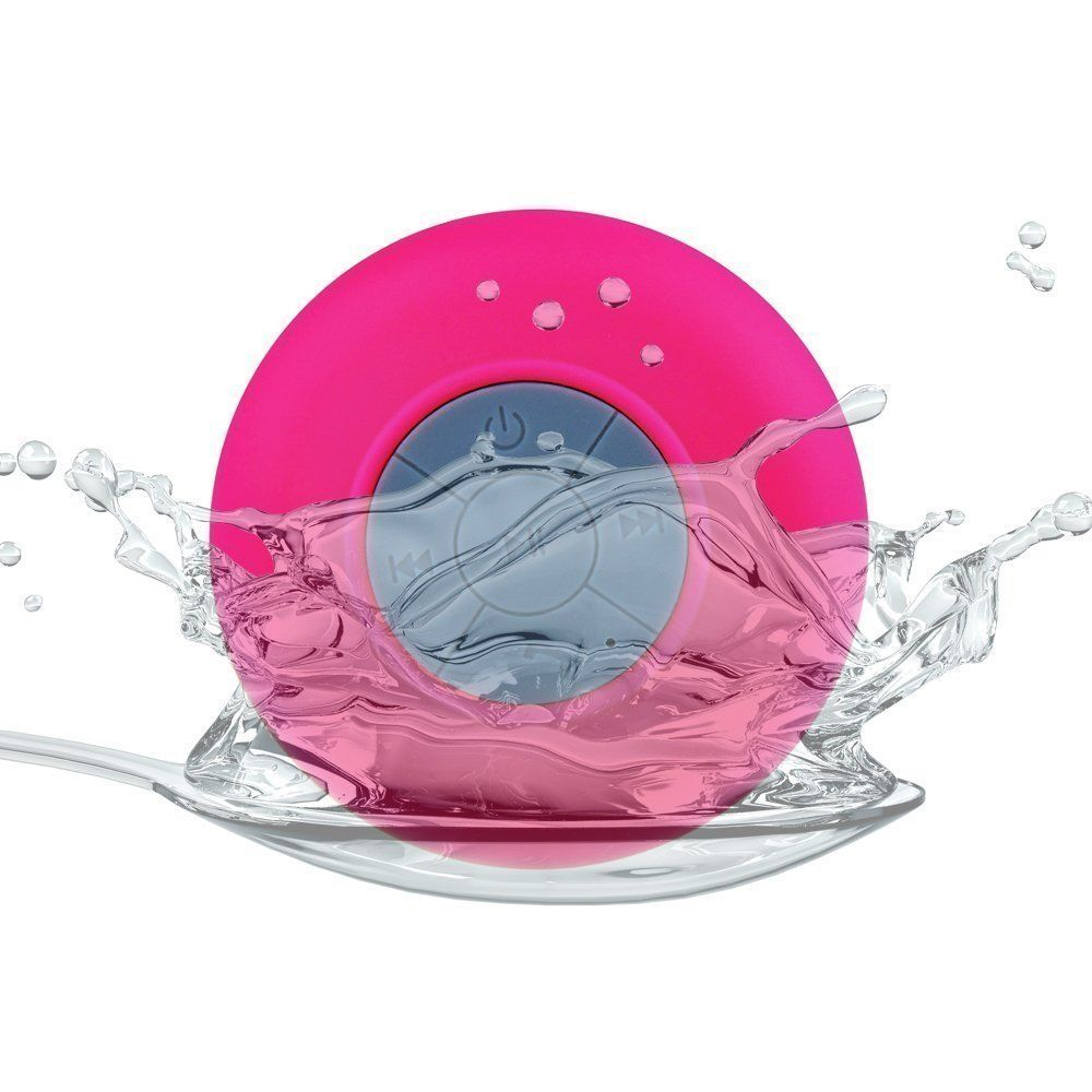 best deals Bluetooth Shower Waterproof Rechargeable Suction Speaker Music MIc