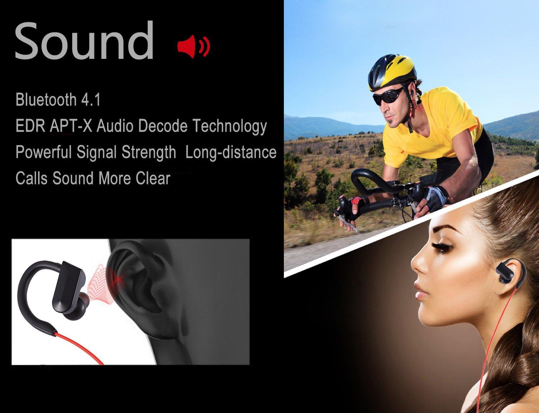 Best deals Wireless Bluetooth Earphones Headphones Headset Mic Sport Mobile Phone