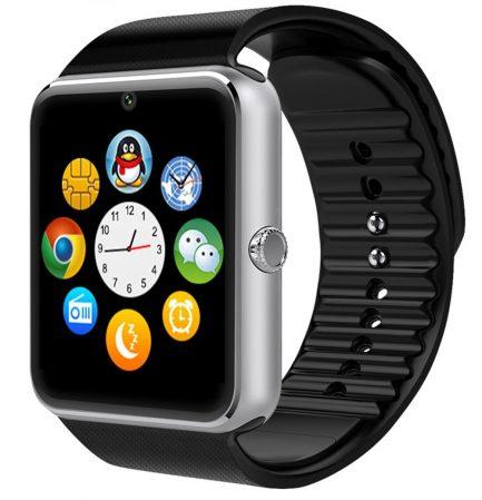 best price New GT08 Bluetooth Smart Wrist Watch GSM SILVER