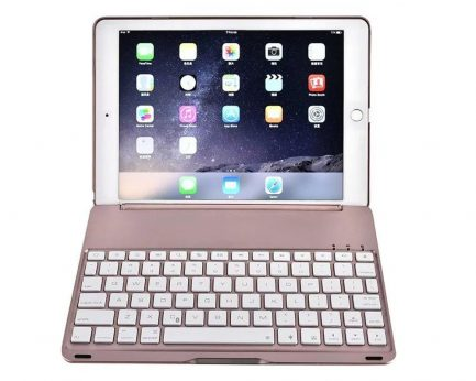 cheap backlit smart bluetooth aluminium keyboard case