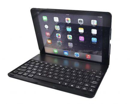 Online iPad pro smart bluetooth backlit keyboard case
