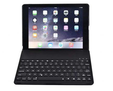 best price iPad pro smart bluetooth backlit keyboard case