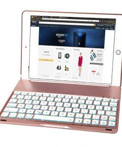 best price IPad Pro 9.7 7 colour Aluminum Bluetooth Keyboard Case