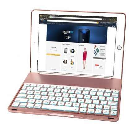 best price IPad Pro 9.7 7 colour Aluminum Bluetooth Keyboard Case