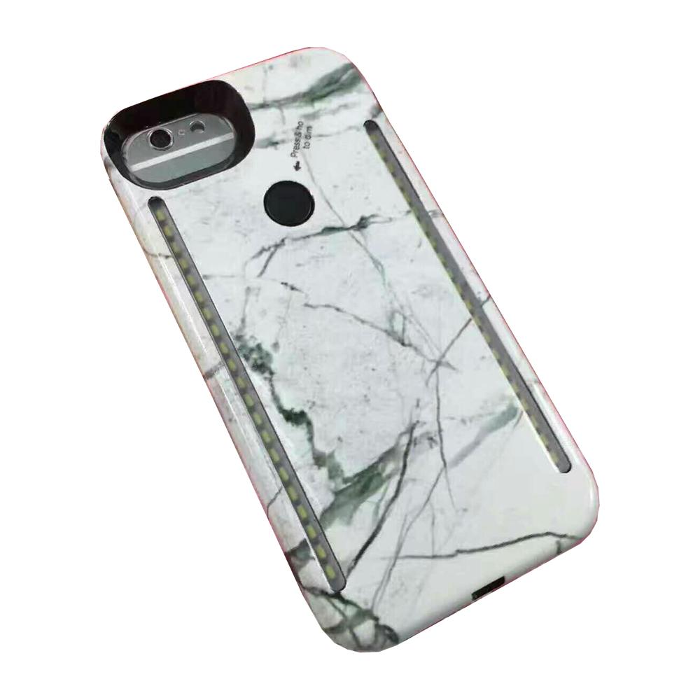 Lumee White Marble Case