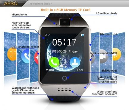 free delivery Bluetooth touch smart for Android iPhone