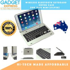ipad mini 4 wireless bluetooth keyboard silver case cover