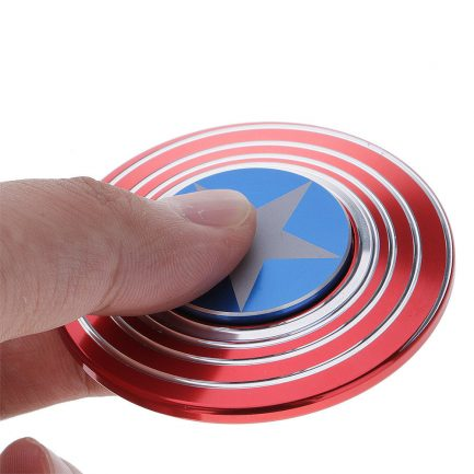 best price captain america optical illusion spinner