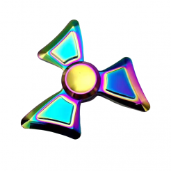 On sale GEX Rainbow Angled Titanium Spinner GX019