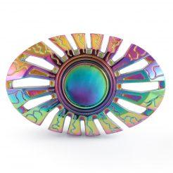 On sale GEX Butterfly Rainbow Titanium Spinner GX031