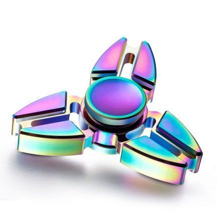 Best deals Rainbow Pointed Titanium Spinner