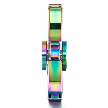 Cheap Rainbow Pointed Titanium Spinner