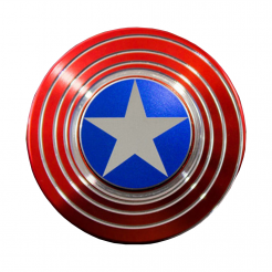 On sale SPECIAL EDITION 'Captain America' Optical Illusion Spinner GX015