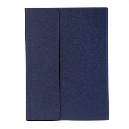 Cheap iPad Pro 12.9 2017 Backlit Bluetooth Keyboard Folio Case - Diamond blue