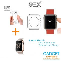 best price Gex Clear Rugged TPU Cover for Apple Watch On sale