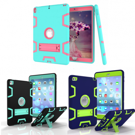 On sale iPad Mini 4 Hybrid Heavy Duty Shockproof Kickstand Case Cover Stand
