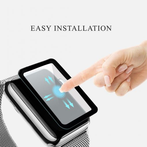 on sale X2 tempered glass screen protector Apple watch