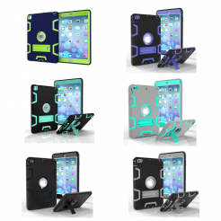 On sale Hybrid Heavy Duty Shockproof Kickstand Case Cover Stand For iPad Air 2 / Pro 9.7