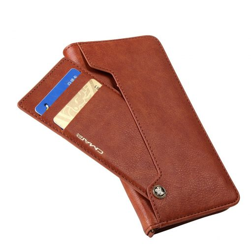 Low price Gex Premium Leather Magnetic Flip Wallet Case IPhone & Samsung