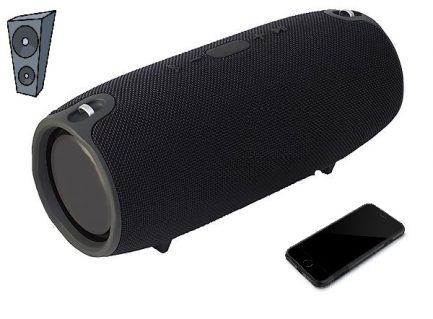 best price V360 Portable Wireless Bluetooth Stereo Speaker Splashproof