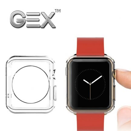 Cheap Gex Clear Rugged TPU Cover for Apple Watch