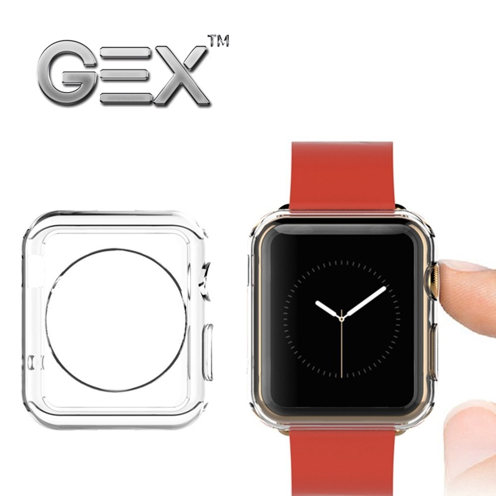 Gex Clear Rugged Tpu Cover For Apple Watch 1 2 3 Free Glass