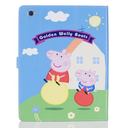 best price Peppa Pig PU Leather Folio Cover iPad Mini 1 2 3 4 Air Air 2 Pro 5th