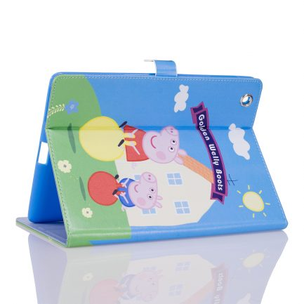 Quality IPad Mini 4 Air Peppa Pig Golden Boots Leather Case