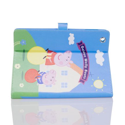 Online sale IPad Mini 4 Air Peppa Pig Golden Boots Leather Case