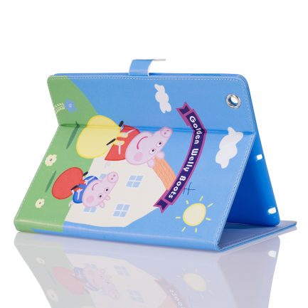 best price IPad Mini 4 Air Peppa Pig Golden Boots Leather Case