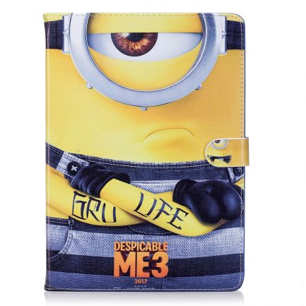 best price IPad Mini 3/2/1 Air/Air 2 Pro 9.7/2017 Despicable Me 3 Leather Case