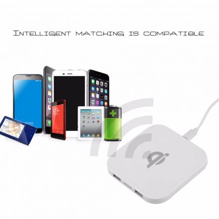 best price Intelligent Gex Qi Wireless Charger For Samsung & IPhone X