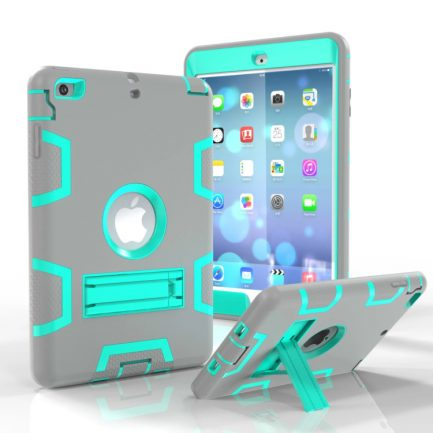 iPad Mini 4 Hybrid Heavy Duty Shockproof Kickstand Case Cover Stand