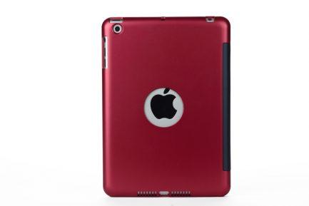 Best deals for iPad mini 3/2/1 Wireless Bluetooth Keyboard Case - RED