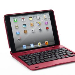 On sale IPad Mini 3/2/1 Wireless Bluetooth Keyboard Case - RED
