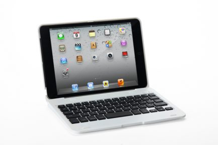 On sale iPad Mini 3/2/1 Wireless Bluetooth Keyboard Cover Case - White