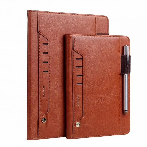 Brown Leather Flip Case Wallet Cover Stand IPad Mini online sale