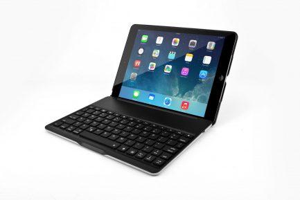 best price iPad 2017 5TH GEN & iPad Air Smart Bluetooth Keyboard Case 7 Colors Backlit
